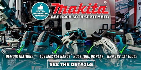 Makita Trade Show - September 2020 tickets