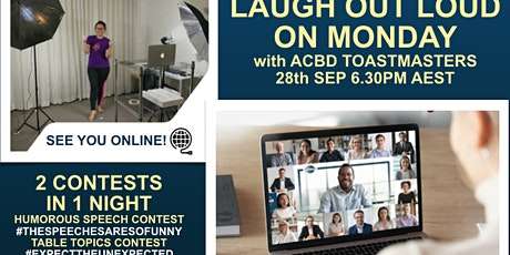 SPECIAL - SPEECH CONTEST - BEST OF THE BEST FROM ACBD tickets