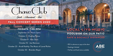 Chase Club - Fall Poolside Concert Series 2020 tickets
