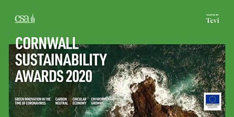 Cornwall Sustainability Awards 2020 tickets