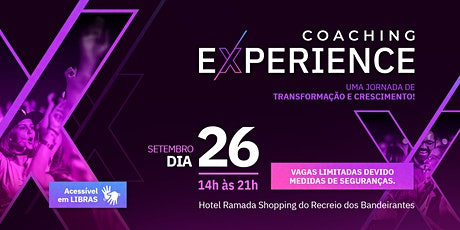 Coaching Experience - Workshop de Coaching presencial ingressos
