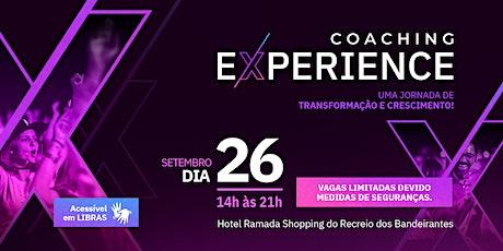 Coaching Experience - Workshop de Coaching presencial ingressos