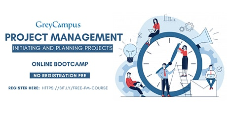 Free Project Management Training: Initiating and Planning Projects tickets