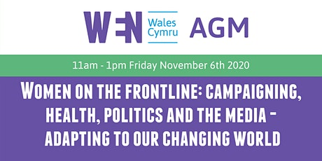 WEN Wales AGM: Women on the frontline tickets