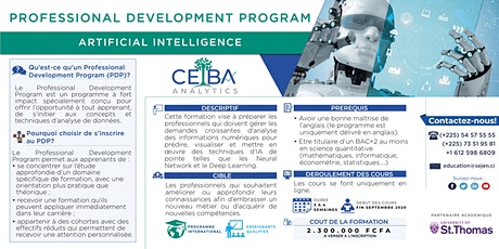 Professional Development Program in Artificial Intelligence tickets