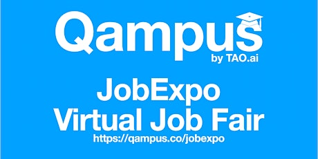 Qampus: College / University Virtual Job Expo / Career Fair Washington #DC tickets