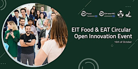 EIT Food & EAT Circular Open Innovation Event bilhetes