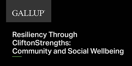 Called to Coach - Resiliency Through CS: Community and Social Wellbeing tickets