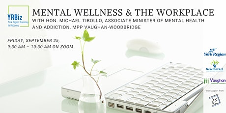 Special YRBiz Recovery Series - Mental Health & the Workplace tickets