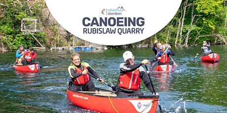 Canoeing at Rubislaw Quarry tickets