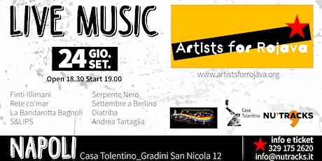 Artists for Rojava - Napoli 24 Settembre 2020 biglietti