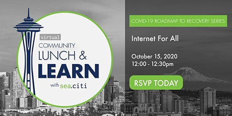 sea.citi Roadmap to Recovery:  Internet for All tickets