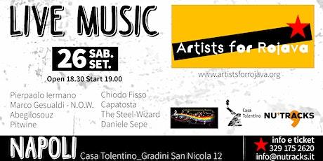 Artists for Rojava - Napoli 26 Settembre 2020 biglietti