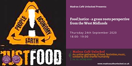 Food Justice - a grass roots perspective from the West Midlands tickets
