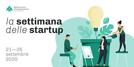 La settimana delle startup (21 - 25 settembre 2020) biglietti