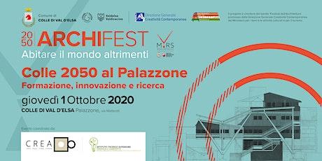 Colle 2050 al Palazzone: formazione innovazione e ricerca biglietti