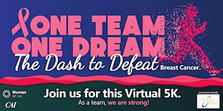 WCAI Virtual 5k Dash to Defeat Breast Cancer tickets