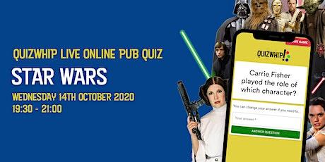 Star Wars - Live Online Pub Quiz from QuizWhip tickets