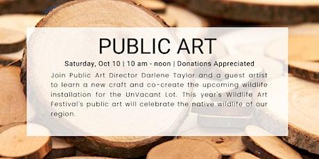 Public Art Workshop tickets