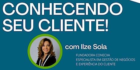 CURSO ONLINE: CONHECENDO O SEU CLIENTE! ingressos