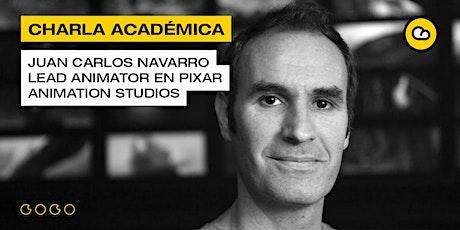 Charlas académicas con Juan Carlos Navarro tickets