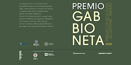 Premio Gabbioneta 2020_Mostra dei progetti biglietti