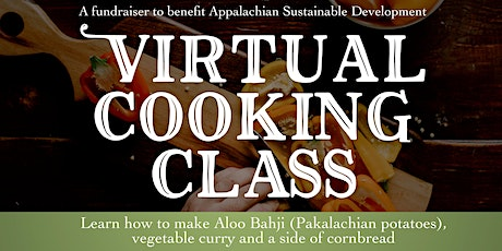 Virtual cooking class -- a fundraiser with The Pakalachian Food Truck tickets