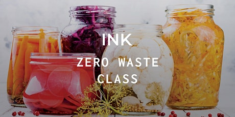Ink Zero Waste Class tickets