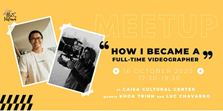 Meetup - How I became a full-time Videographer tickets