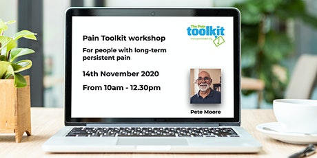 Pain Toolkit workshop For people with long-term  persistent pain tickets