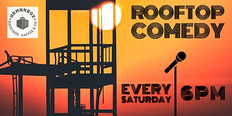Rooftop Comedy #12 - Chasing The Sun! tickets