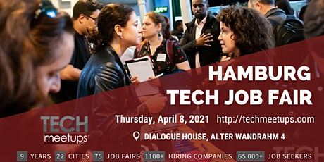 Hamburg Tech Job Fair 2021 by Techmeetups tickets