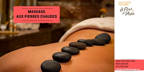 Formation de massage aux pierres chaudes billets