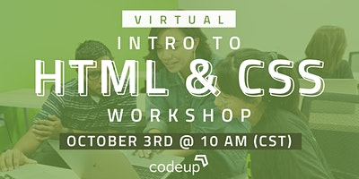 Codeup | Learn to Code Workshop: HTML & CSS