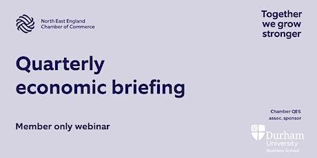 Quarterly economic briefing tickets
