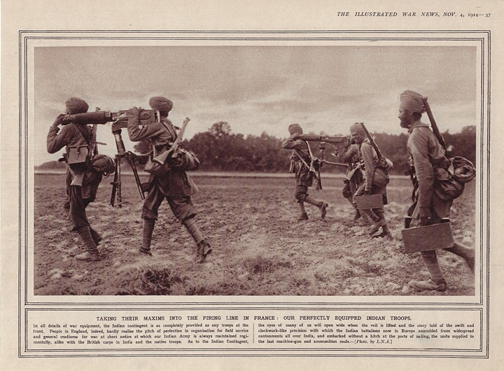 Pardeep Singh Nagra on Brothers in Arms: The Sikhs in WWI image