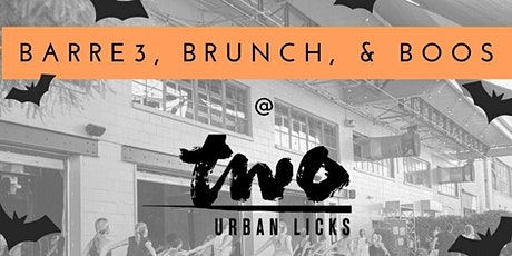 barre3, brunch, & boos at TWO Urban Licks tickets