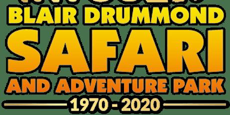 Family Trip to Blair Drummond Safari Park tickets
