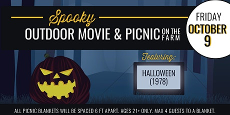 Spooky Outdoor Movie & Picnic on The Farm [10.9.20] tickets