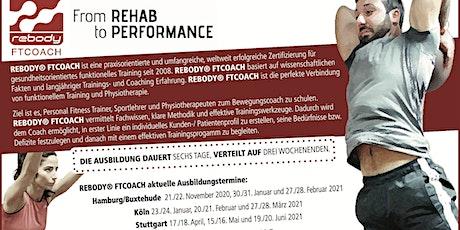 Rebody FTCOACH - Aus- /Fortbildung für Trainer, Physiotherapeuten & Sport C Tickets