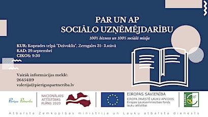 Par un ap sociālo uzņēmējdarību tickets