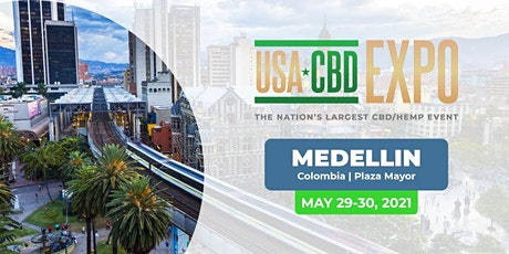 USA CBD Expo - South America - Medellin, Colombia billets