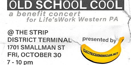 Old School Cool feat. SPUDS & A.T.S. — Life'sWork Benefit Concert tickets