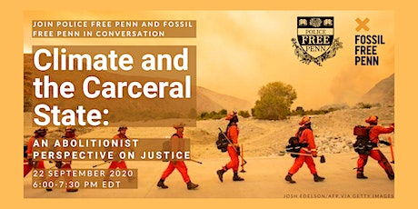 Climate and the Carceral State: An Abolitionist Perspective on Justice tickets