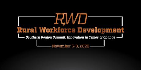 2020 Rural Workforce Development Southern Region Summit tickets