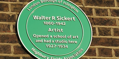 The life and work of Walter Sickert tickets