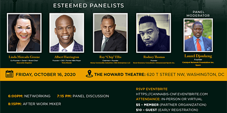 Black Ownership in the Cannabis Industry tickets