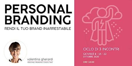 Personal Branding: come sviluppare e potenziare il proprio brand personale biglietti