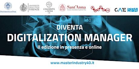 Master di I livello in Industry 4.0 Design: presentazione della II edizione biglietti