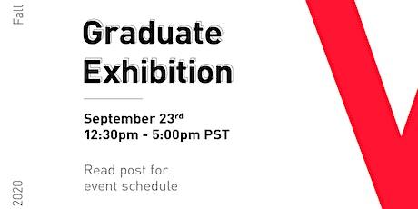 VCAD Virtual Graduate Exhibition Fall 2020 tickets